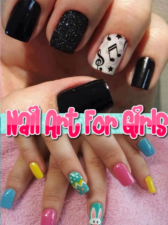 Nail Art For Girls Free Salon For Princess Nail Art Designs