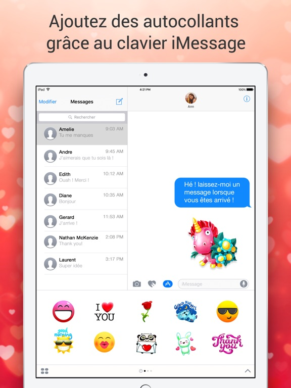 Screenshot #6 pour Clavier Emoji pour Moi - Nouveaux emojis gratuits