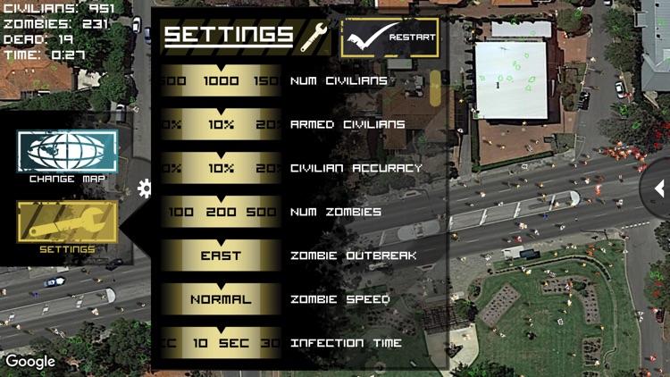 Zombie Outbreak Simulator Pro screenshot-3