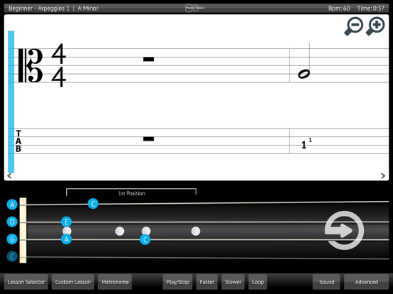 Learn & Practice Viola Music Lessons Exercises screenshot one
