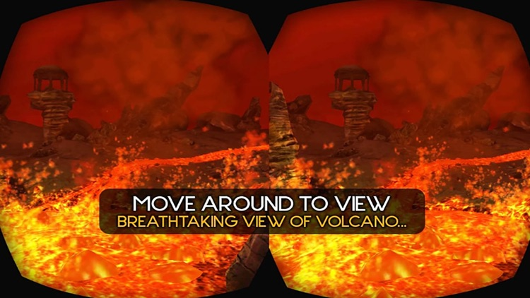 VR Volcano Hills
