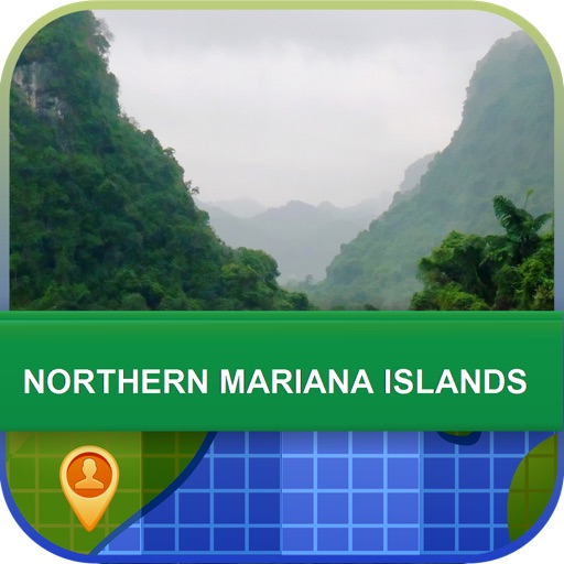 Northern Mariana Islands Map - World Offline Maps
