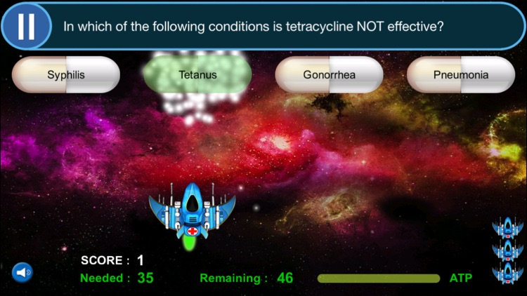 Pharmacology Game: USMLE, COMLEX, NAPLEX FULL (SCRUB WARS) screenshot-0