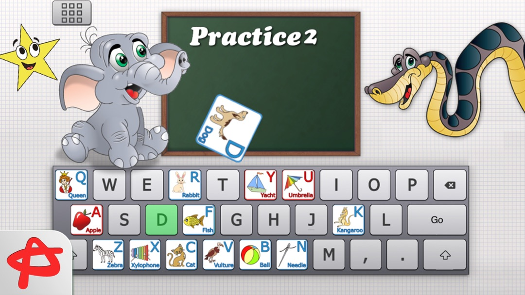 Clever Keyboard: Free ABC Learning Game For Kids - Online