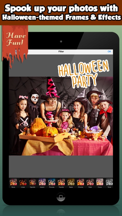 Free Halloween Photo Frames For Kids