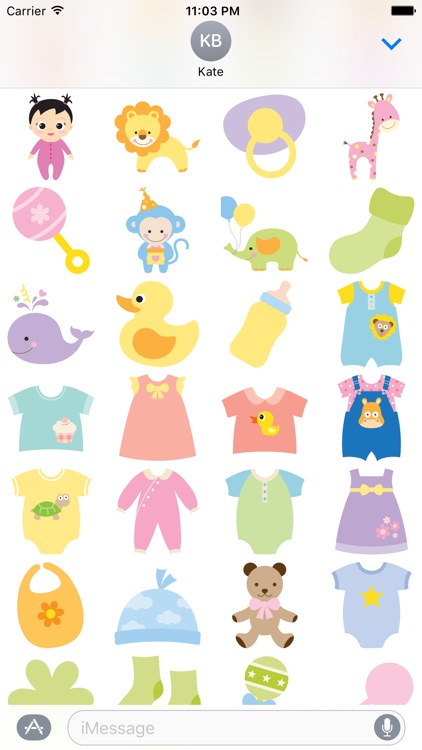 Baby Cuties For Stickers By Appgrammers Llc