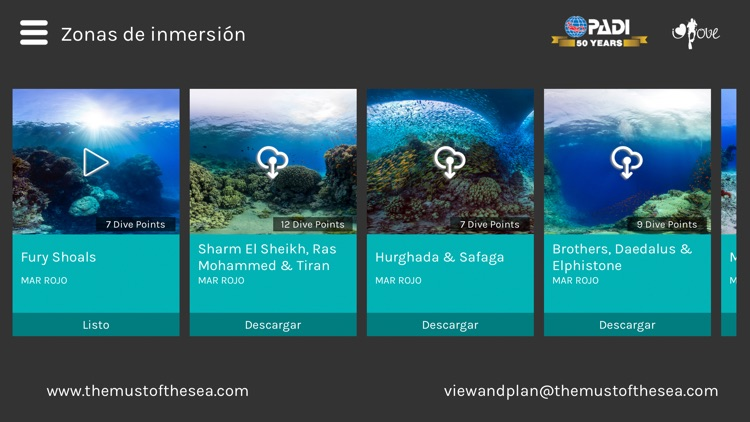 View and Plan - VR Scuba diving