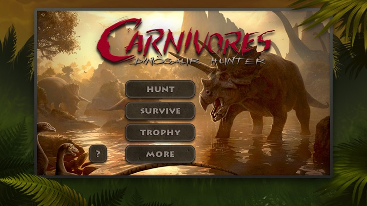 Carnivores: Dinosaur Hunter screenshot-0
