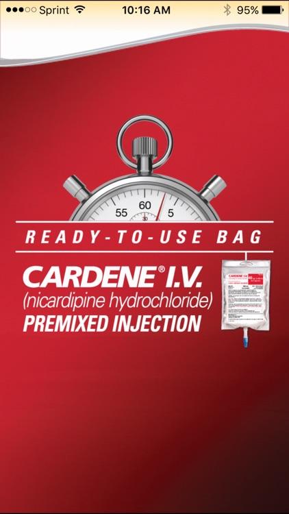 CARDENE I.V. Dosing App
