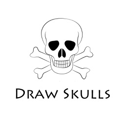 How To Draw Skulls - Step By Step Drawing