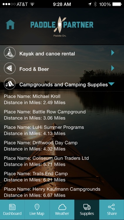 Paddle Partner For Canoeing Kayaking and Camping screenshot-4