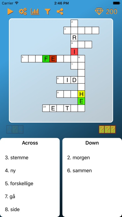 World Cross Word Danish screenshot-2