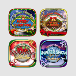 Hidden Object Christmas Winter Puzzle Games