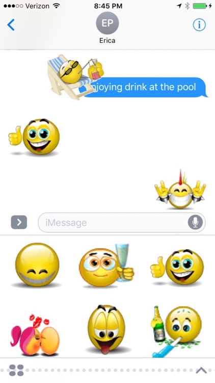 Animated Smileys for iMessages screenshot-0