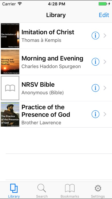 Ccel Nrsv Bible review screenshots