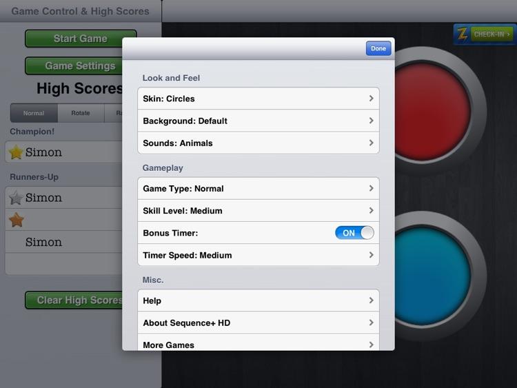 Sequence Plus HD screenshot-3