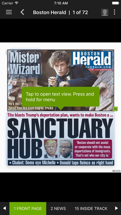 Boston Herald e-Edition screenshot-3