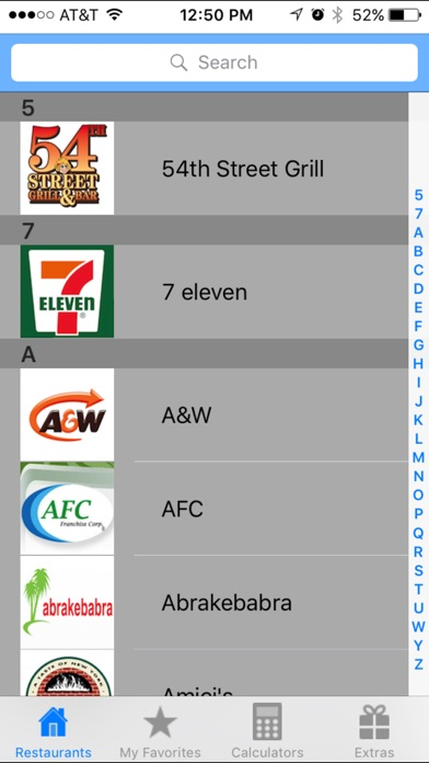 Smart Fast Food Calculator App review screenshots