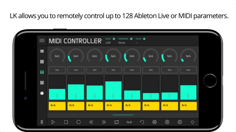 LK - for Ableton Live & Midi control screenshot-3