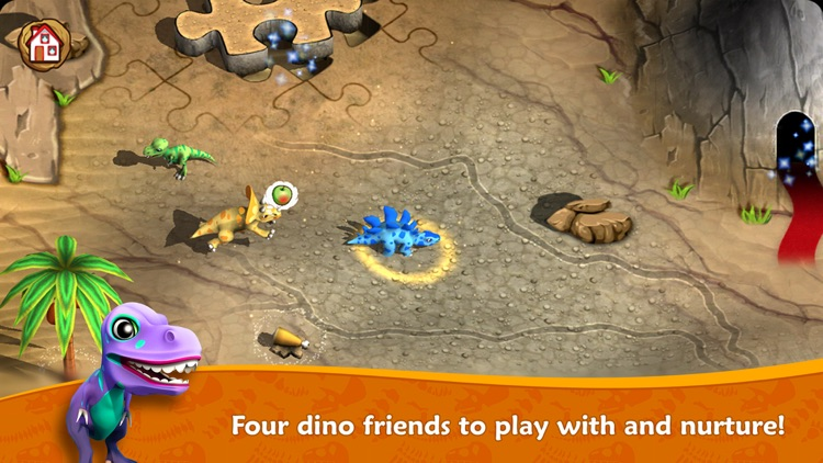 Dino Tales Jr – storytelling for young minds screenshot-0