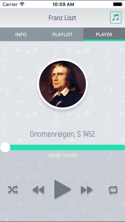 Franz Liszt- Classical Music Full screenshot-3