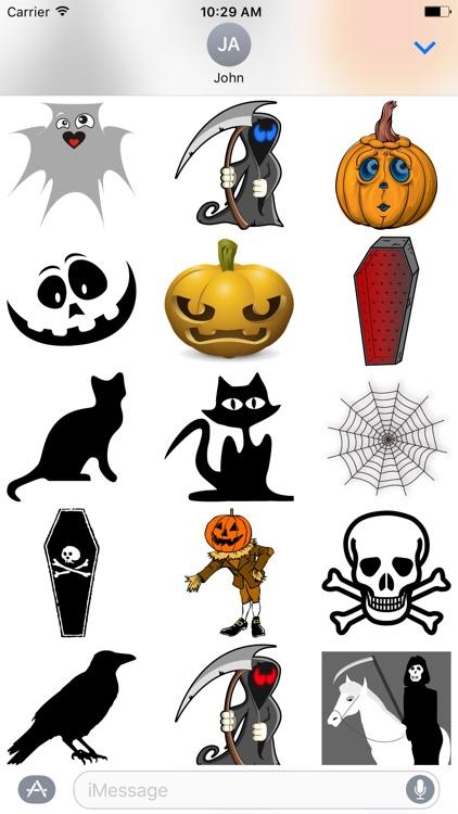 Mega Halloween Stickers Pack screenshot-3