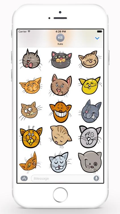 CatMoji Sticker Pack screenshot-3