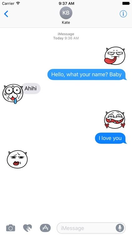 Funny Demon emojis animated - Fx Sticker