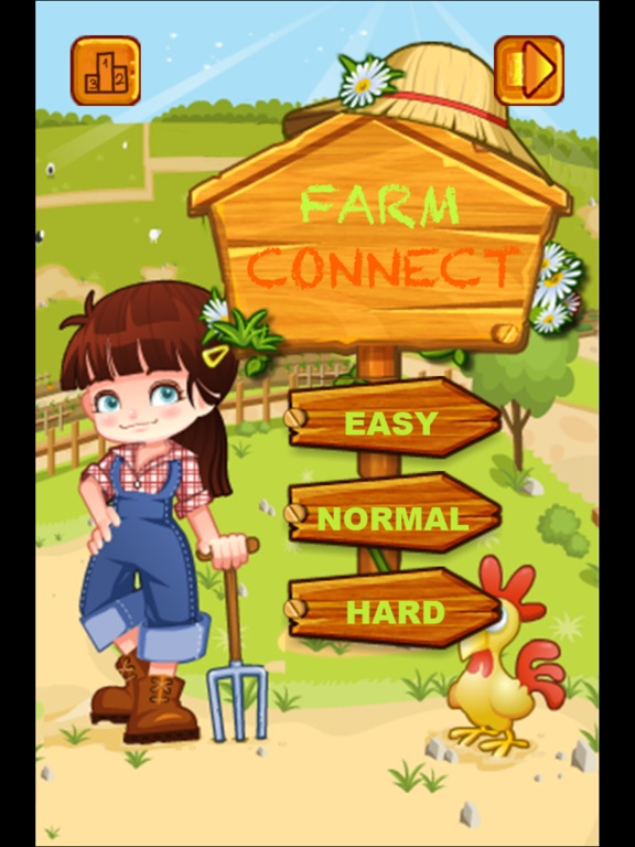 Onet Connect Animal - Farm Connect-ipad-0