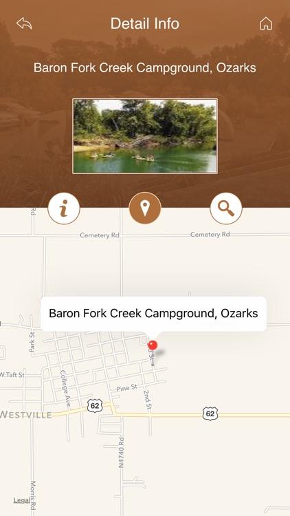 Oklahoma Camping Guide screenshot-3