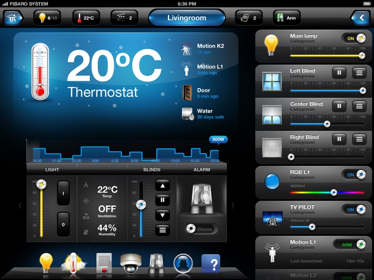 FIBARO for iPad screenshot-3