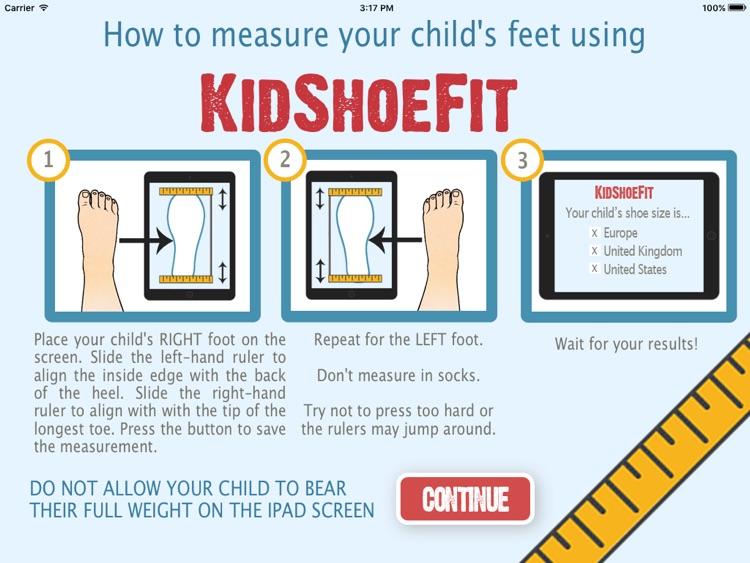 KidShoeFit