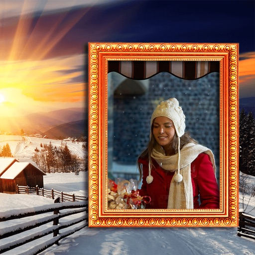 Christmas HD Photo Frames - Frame from the heart