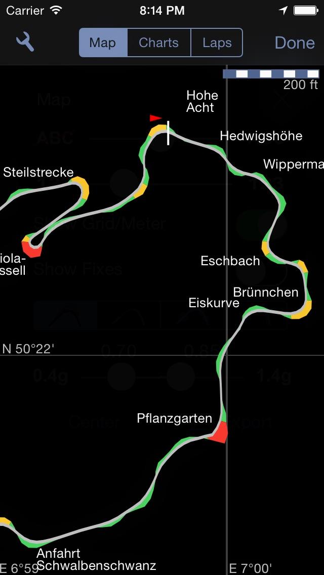 Screenshot for Harry's LapTimer Grand Prix in Switzerland App Store