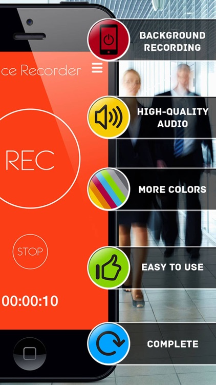 Voice Recorder Pro - record memos and notes screenshot-2