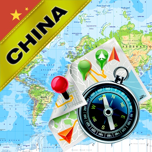 China, Southeast Asia - Offline Map & GPS Navigator