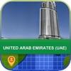 オフラインて アラフ首長国連邦(UAE) マッフ - World Offline Maps