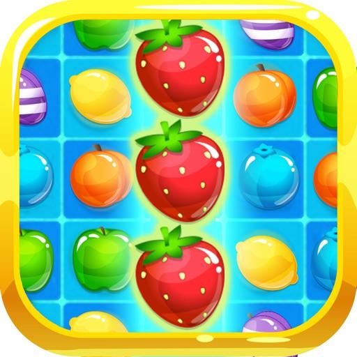 Charm Fruits Garden - New Sweet Match3 Blast
