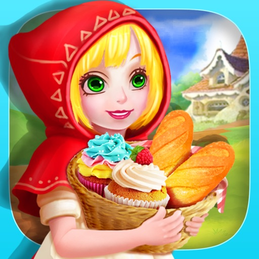 Little Red Riding Hood Food Adventure- Fairy Tale Cupcake Maker