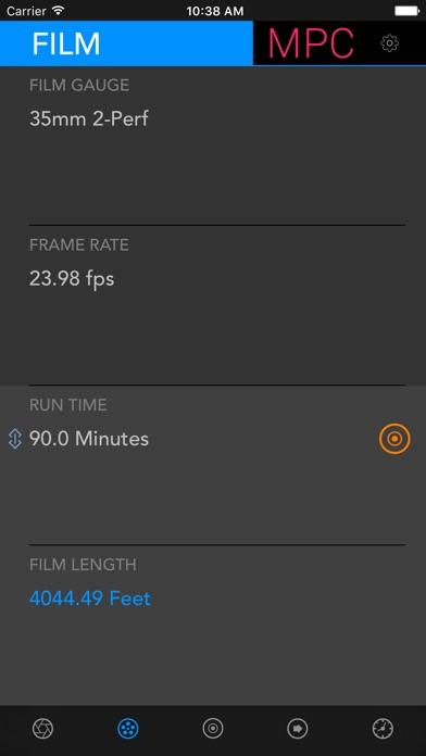 Data Calc Pro 2 Screenshot on iOS