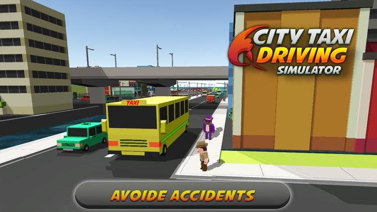 Intra City Taxi Driving Simulator screenshot-4