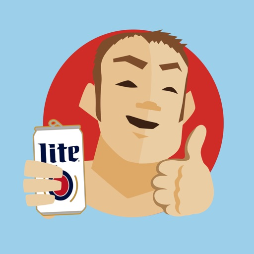 Football Stickers by Miller Lite