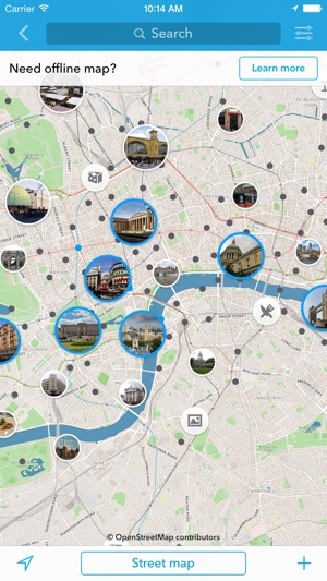 london offline map city guide on the app store