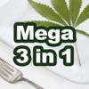 Mega Marijuana Cookbook - Cannabis Cooking & Weed Reviews