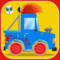 Little Tractor Builder Factory- Tractors Maker for kids