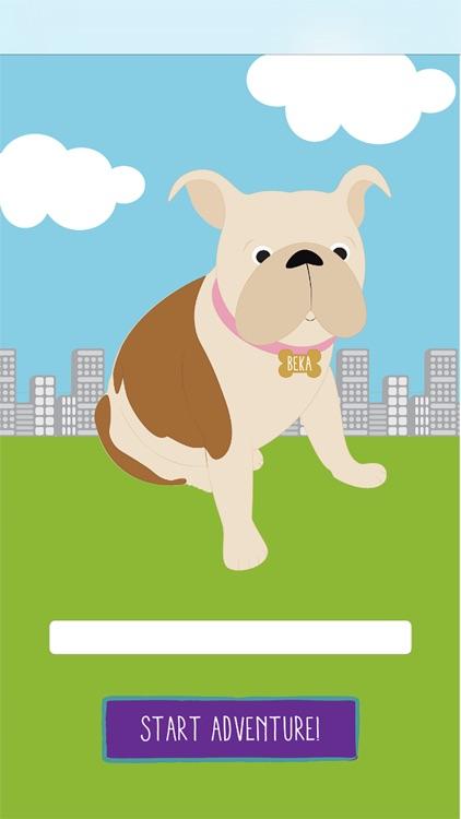 Beka the Bulldog - Interactive story app for kids