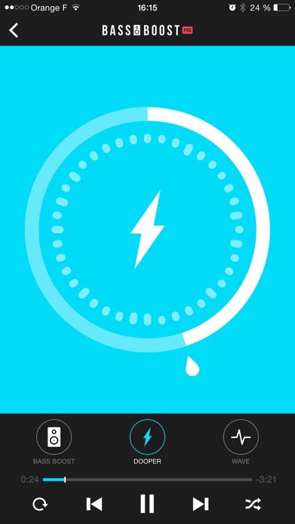 Bass Booster Pro - Volume Power Amp & Music Player screenshot-3
