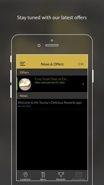 TooJay's Delicious Rewards screenshot-3