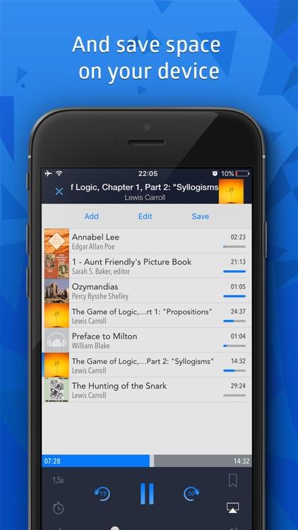 Cloudbeats: audiobooks player