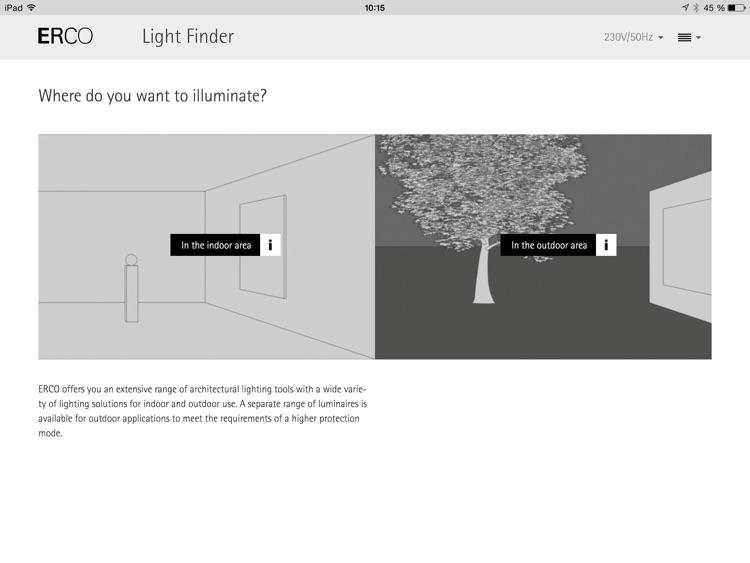 ERCO Light Finder